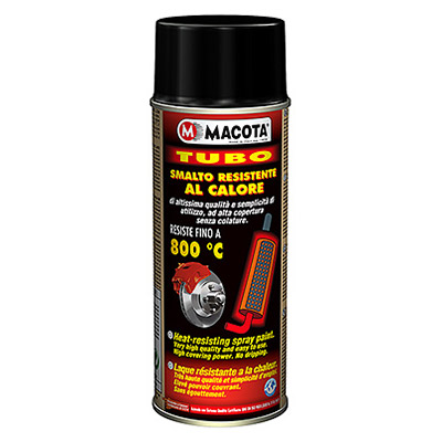 Heat-Resistant Spray Paint: up to 800°C - 400 ml