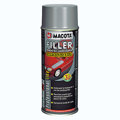 Filler- Primer for Bodywork sand-papered in spray can