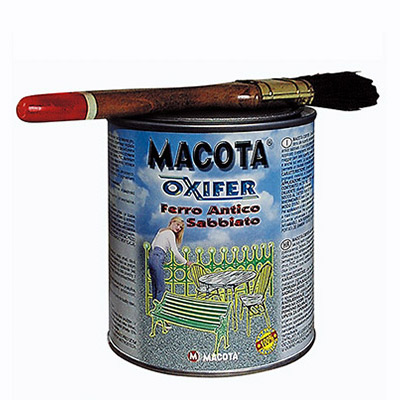 Oxifer micaceous iron in tin