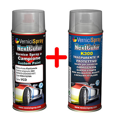 Car touch up kit spray metallic paint