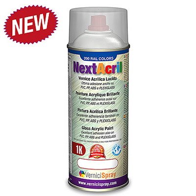 NextAcril - Acrylic Spray Paint Gloss RAL colours