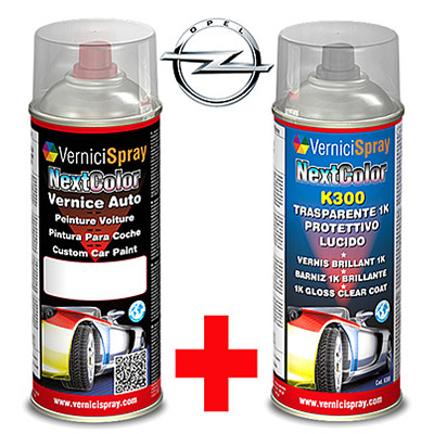 Automotive Touch Up Kit Spray OPEL CORSA 163 LIGHTSILBER MET.
