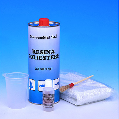Fiberglass Restoration system - for cars, motorbikes, boats, canoes and industry