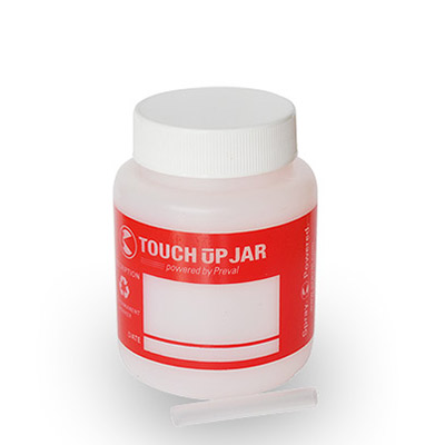 Plastic jar for Paints storage designed for Spray Gun Preval