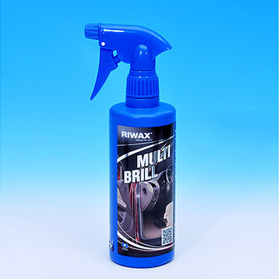 MULTI BRILL - Vinyl, plastic and rubber Reviver and Protector by RIWAX