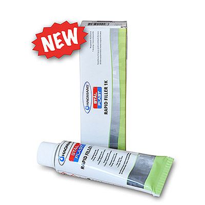 Rapid Filler - 1k Acrylic filler with quick drying time in tube   Standard
