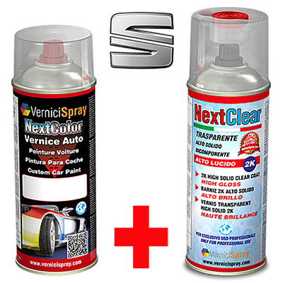 The best colour match Car Touch Up Kit SEAT LEON S5N AZUL IMPERIAL MET.