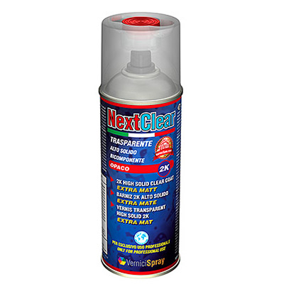 NextClear Matt - 2k Spray High Solid Matt Clear Coat ml 400