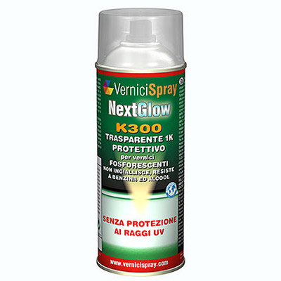 NextGlow K300 Protective Lacquer Spray for Luminous and Fluorescent Paints