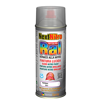 Gloss Nitro paint in RAL colours in spraycan