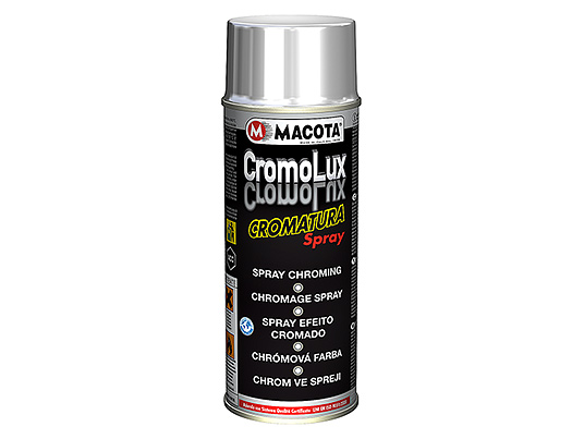 Chromium-plating spray at HIGH RESISTANCE TO RUBBING 400 ml