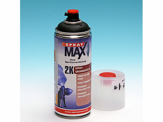 2k Epoxy Primer in spray for the best adhesion on aluminum, galvanized steel, iron, alloys