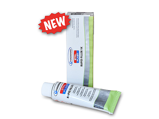Rapid Filler - 1k Acrylic filler with quick drying time in tube